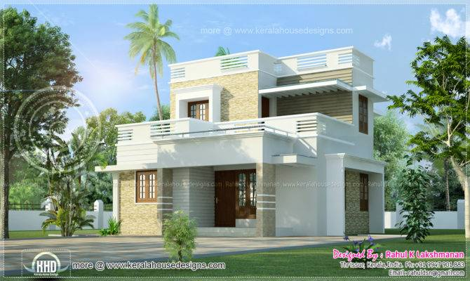 Small Storey Villain Kerala Home Design