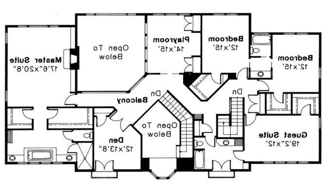 Small Story Home Plans Master Main Deco