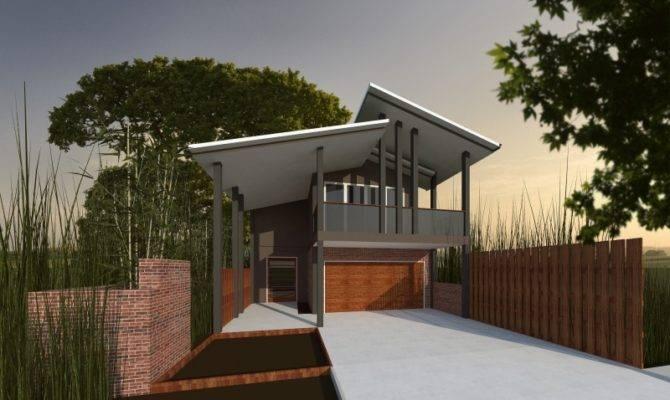 Small Suburban Blocks Flat Sloping Contemporary Home