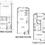 Small Townhouse Floor Plans Sale