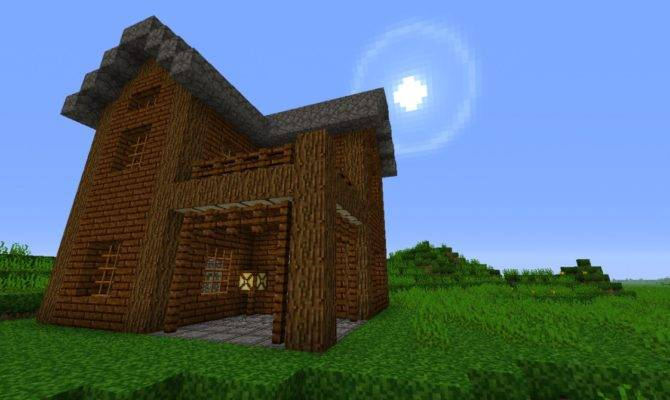 Small Two Story House Minecraft Project