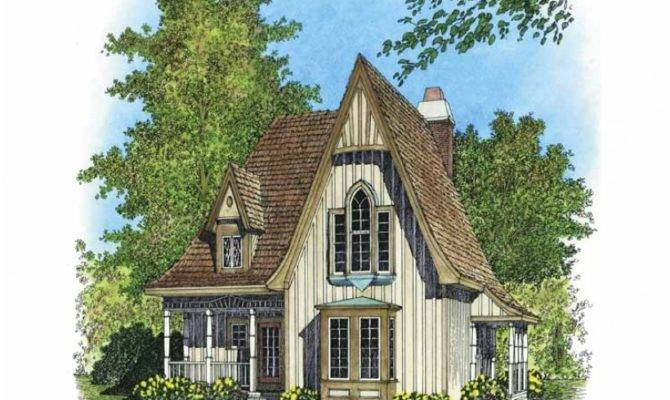Small Victorian Cottage House Plans Gothic Revival