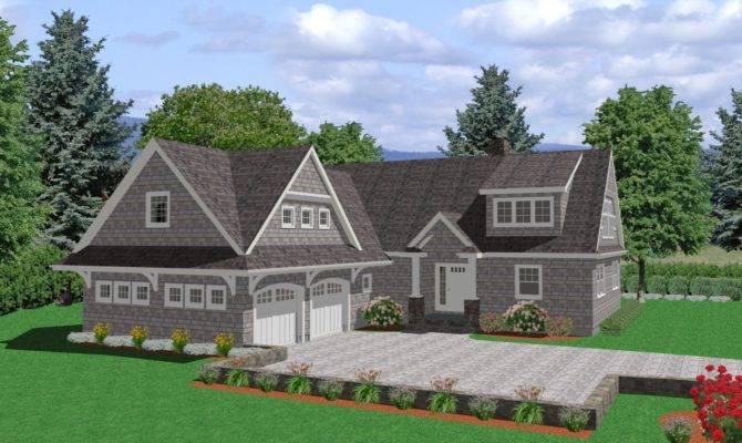 Smart Placement Downslope House Designs Ideas