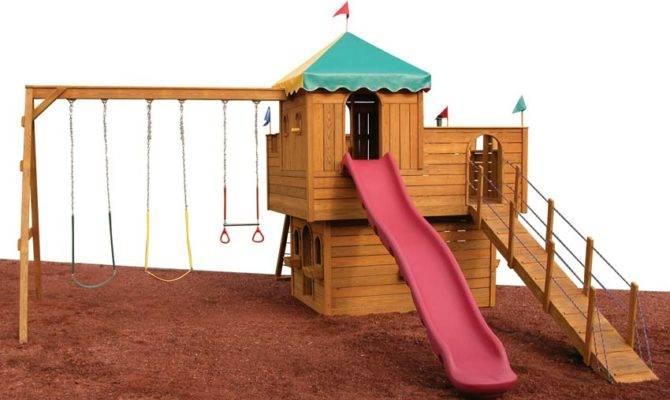 Snug Haven Castle Playset Wooden