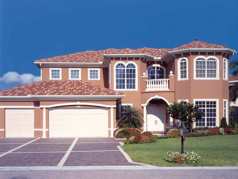 Solana Mediterranean Home Plan House Plans