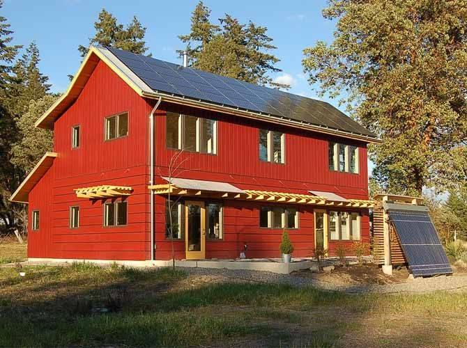 Solar Farm House Non Existent Pinterest