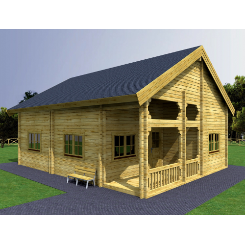 Somerleyton Two Storey Log Cabin Scott Sheds Ltd
