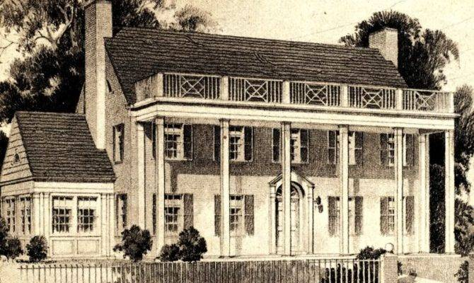 Southern Colonies Houses Close House