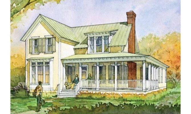 Southern Farmhouse House Plans