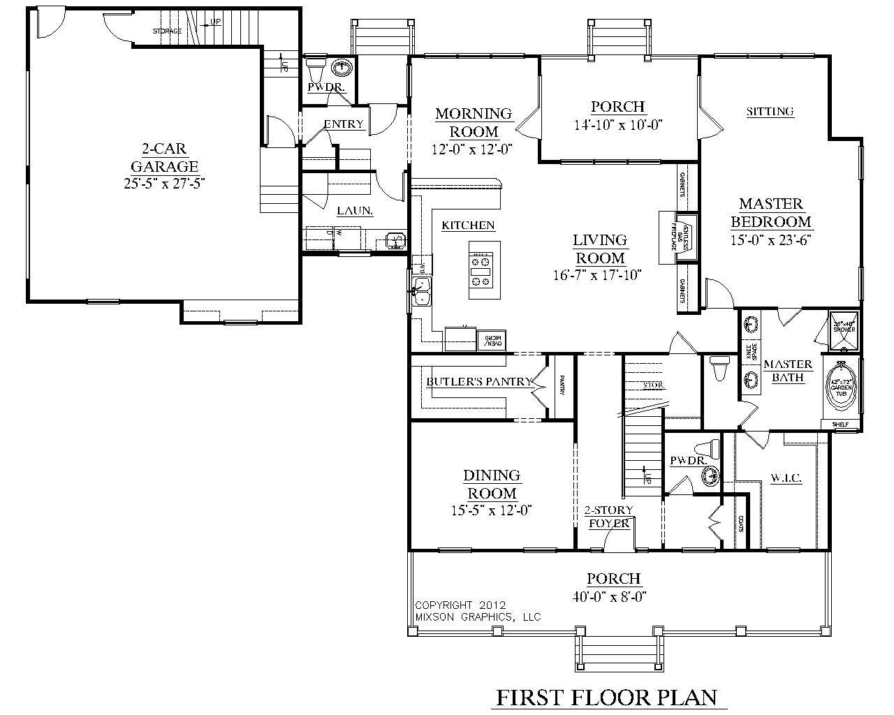 Southern Heritage Home Designs House Plan Elmwood
