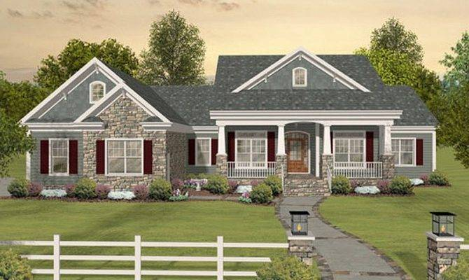 Southern Style House Plan Beds Baths