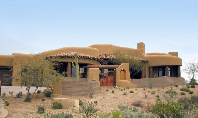 Soutwest Pueblo Style Home Beringer Fine Homes