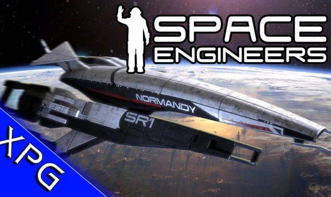 Space Engineers Normandy Speed Build Mass Effect Ship