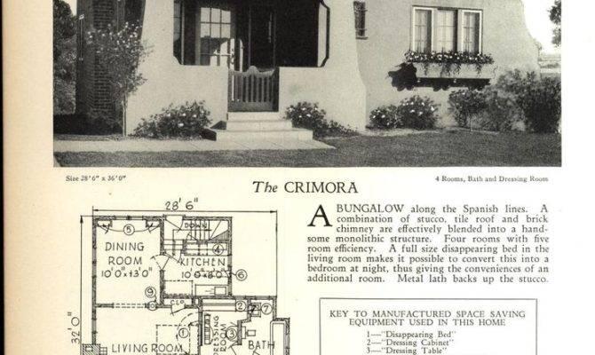 Spanish Bungalow House Plans