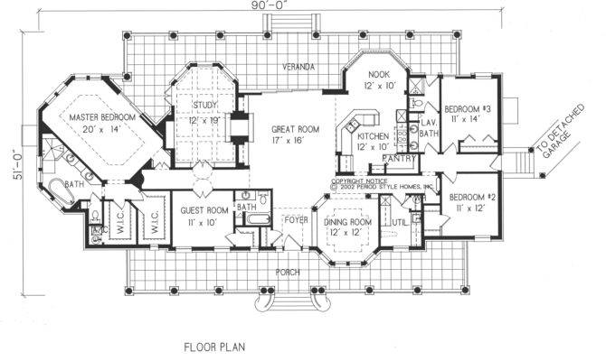 Spanish Colonial Revival House Plans