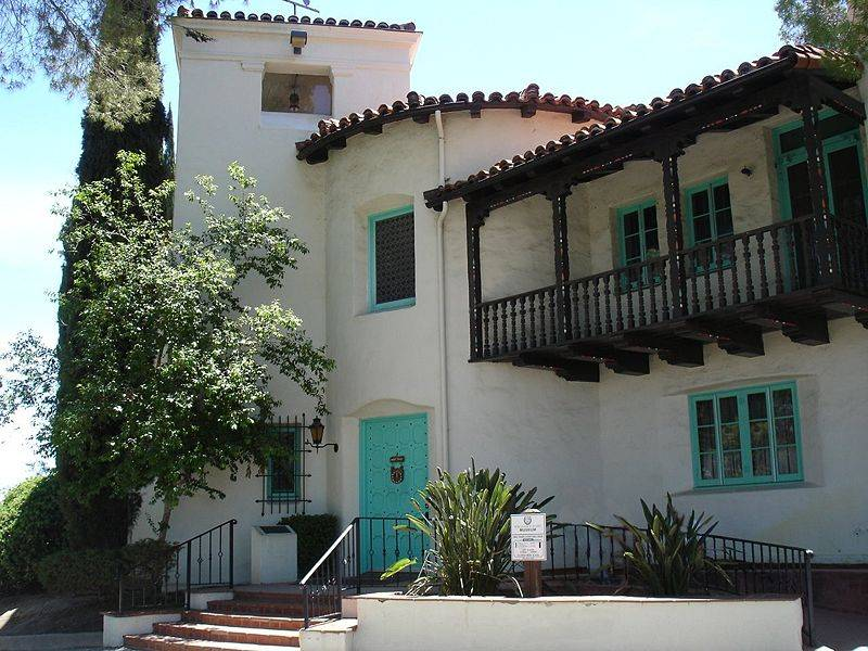 Spanish Colonial Revival Mission Style Pueblo