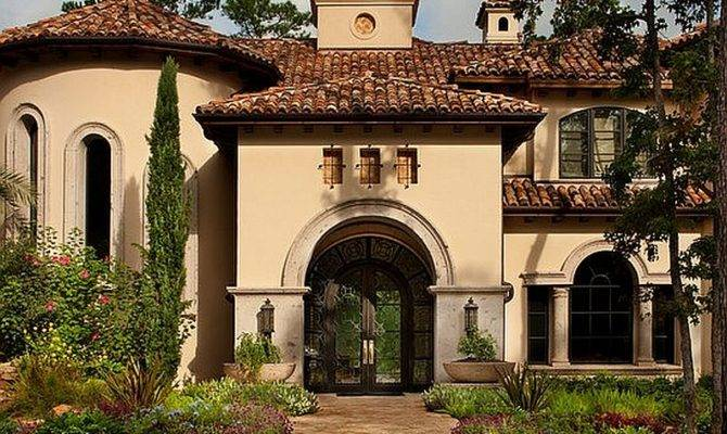 Spanish Mediterranean Style Homes Pinterest