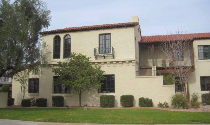 Spanish Mission Style House Story Looks