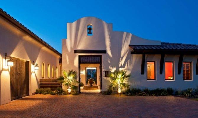 Spanish Mission Style Scottsdale Custom Home Builders
