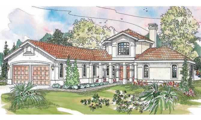 Spanish Style House Plans Grandeza Associated Designs