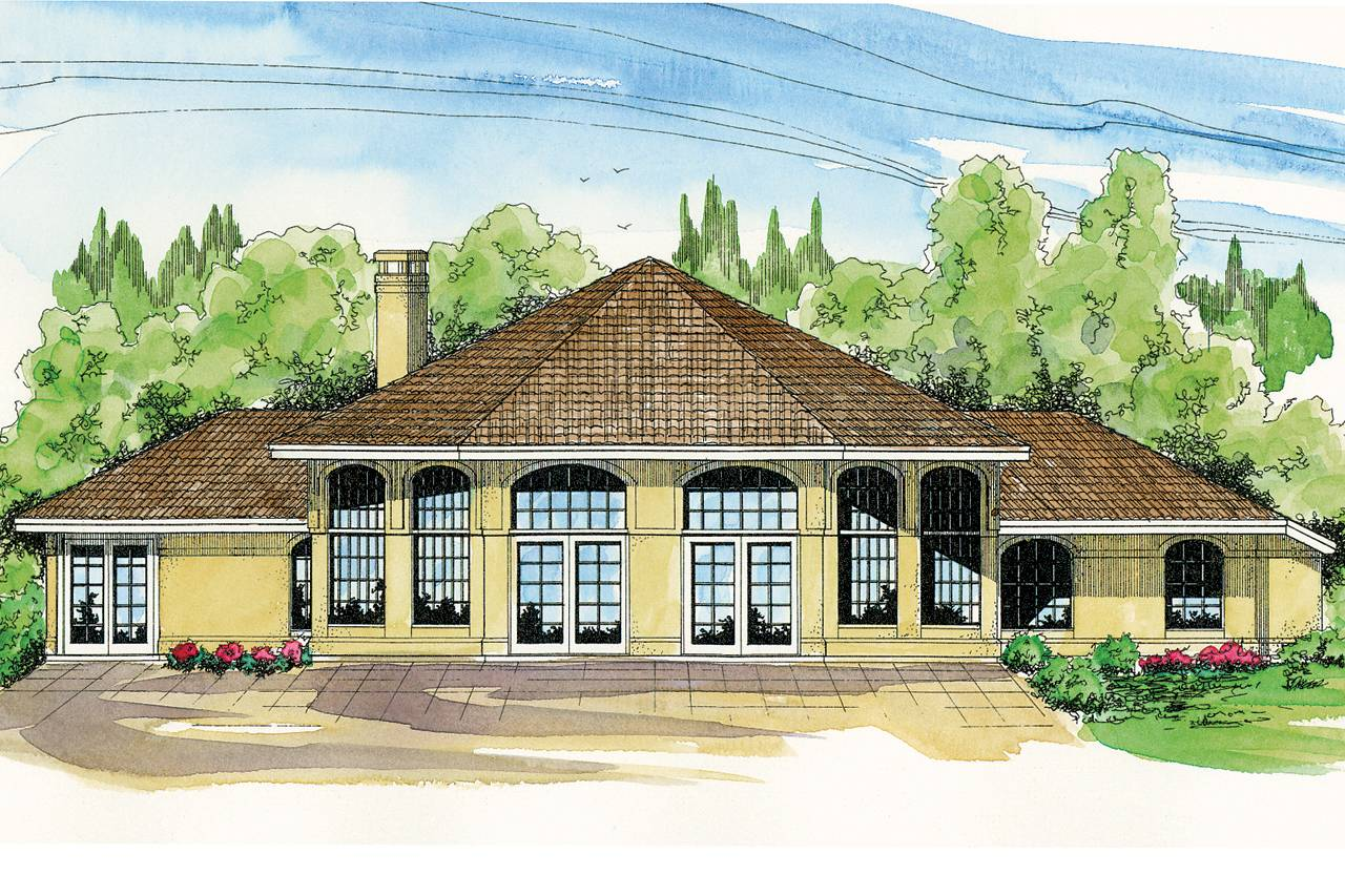 Spanish Style House Plans Santa Ana Associated