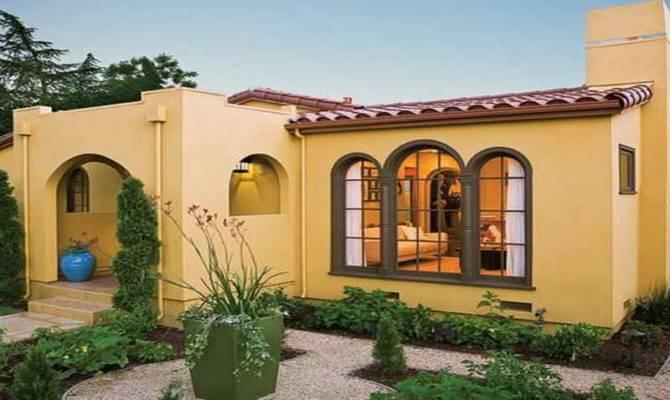 Spanish Style Luxury Homes Yellow