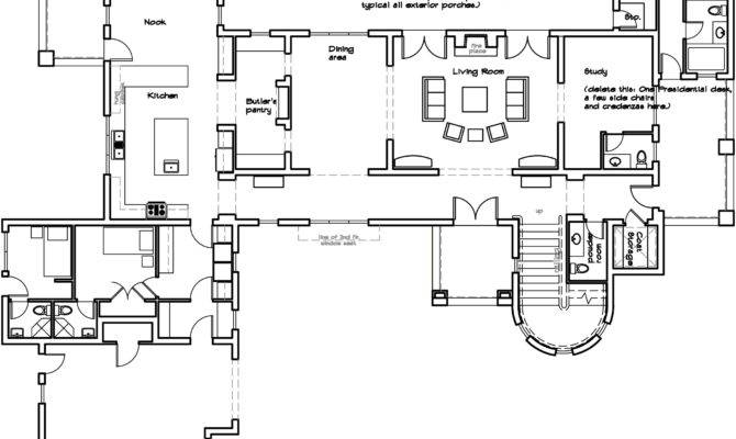 Spanish Villa Floor Plans Italian Mexican Plan Modern