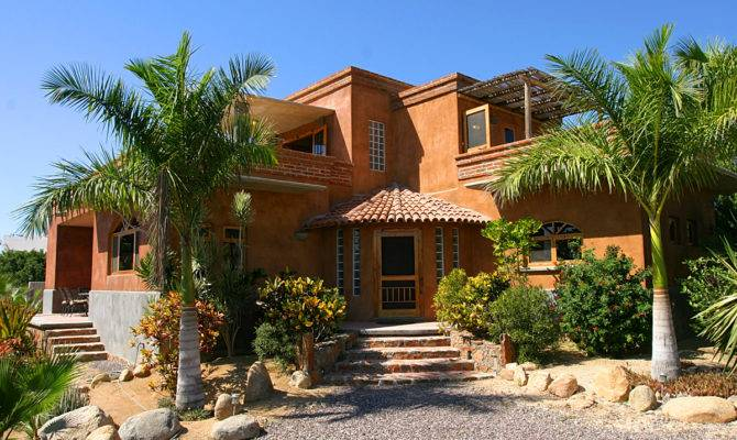 Special Characteristic Mexican Houses Style House