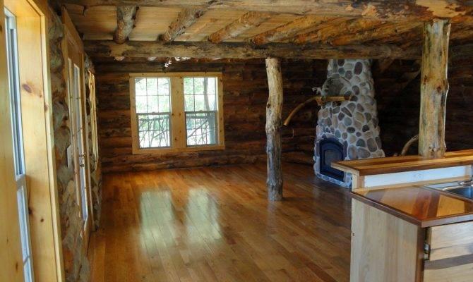Spectacular Log Cabin Floors Home Building Plans