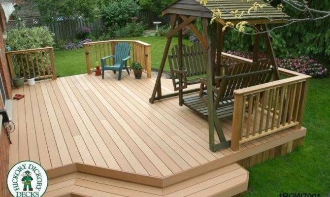 Spectacular Low Level Deck Plans House