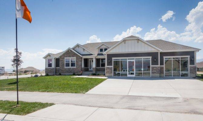 Spectacular Rambler House Plans Utah