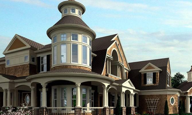 Spectacular Shingle Style House Plan Floor