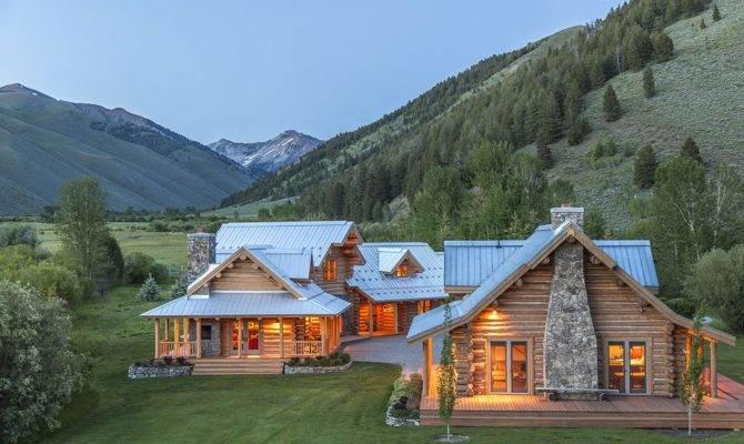 Splendido Ranch Tra Montagne Dell Idaho Steve
