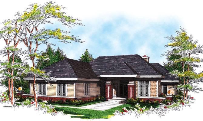 Split Bedroom Ranch Architectural Designs