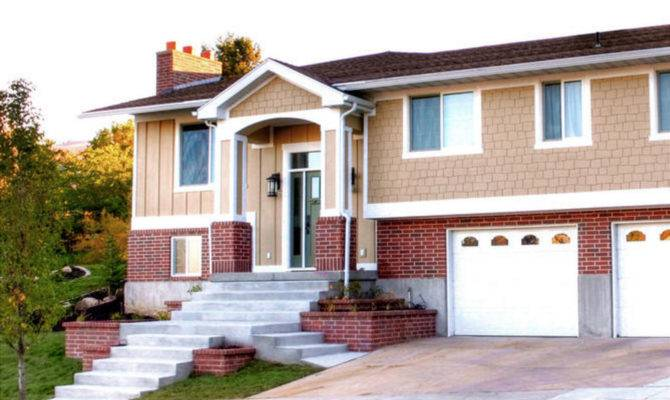 Split Level Front Porch Addition Elevation Can