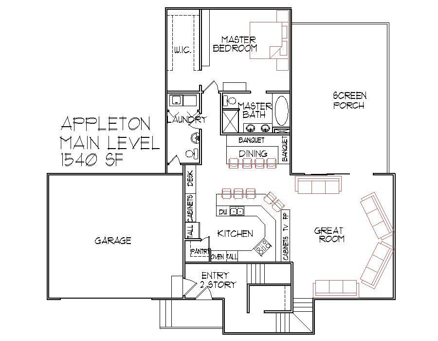Split Level House Floor Plan Bedroom Des Moines Iowa Master