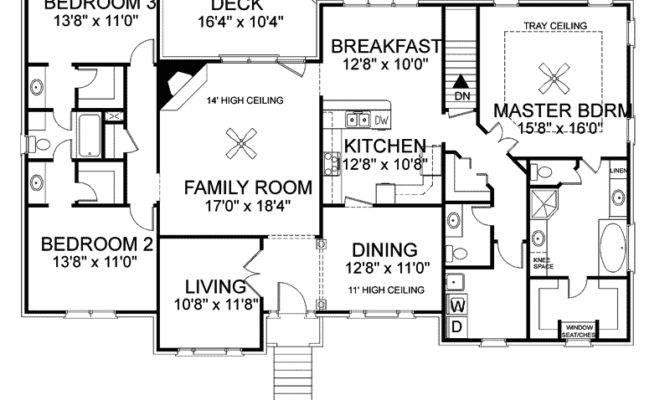 Split Level House Floor Plans Home