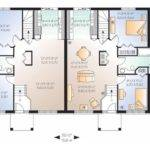 Split Level House Plan Duplex Square Feet