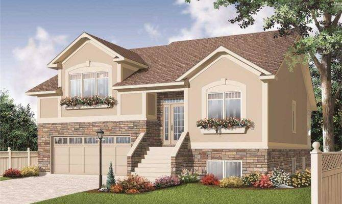 Split Level House Plans Home Design