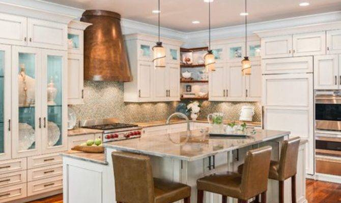 Split Level Kitchen Design Ideas Remodels Photos