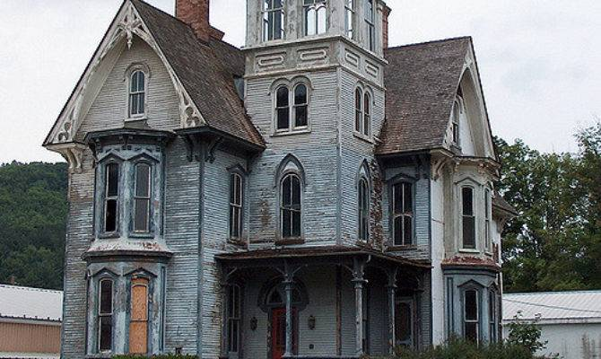 Spooky House Tower Flickr Sharing