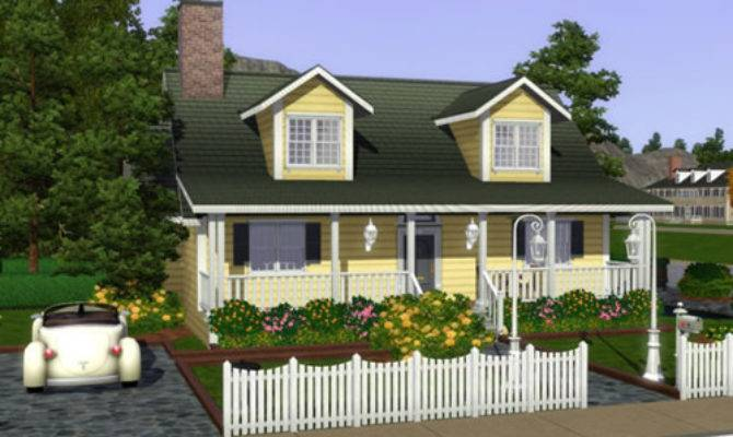 Spring Sims Kingfisher Gables Small House Poppy