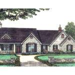 Sprucehaven Southern Ranch Home Plan House Plans More