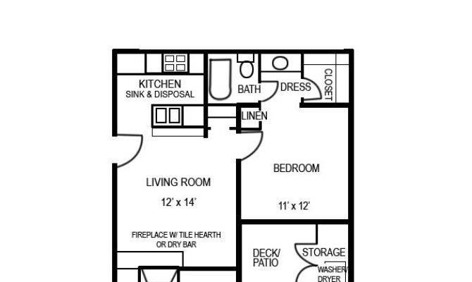Sqft Studio Apartment Floor Plan Latest