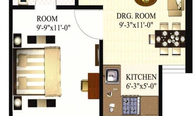Square Feet Apartment Floor Plan Bedroom Apartments