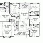 Square Feet Cottage Plan Foot Cabins