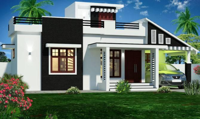 Square Feet Double Floor Box Type Home Designs