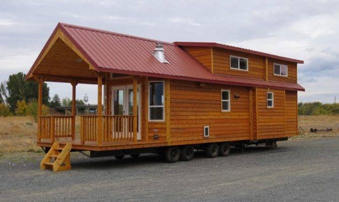 Square Feet Double Loft Park Model Cabin