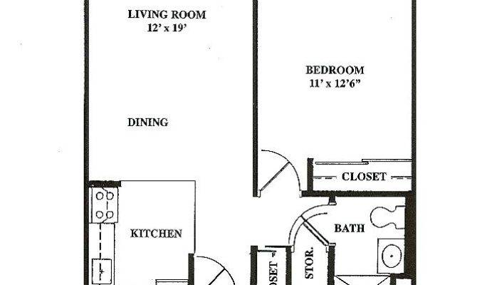 Square Feet Floor Plan Bedroom