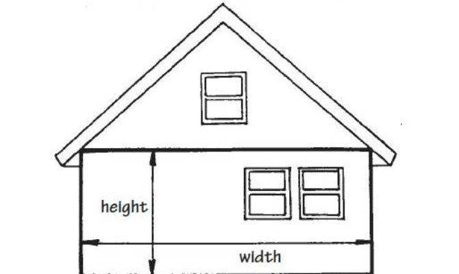 Square Feet House Measure Home Deco Plans
